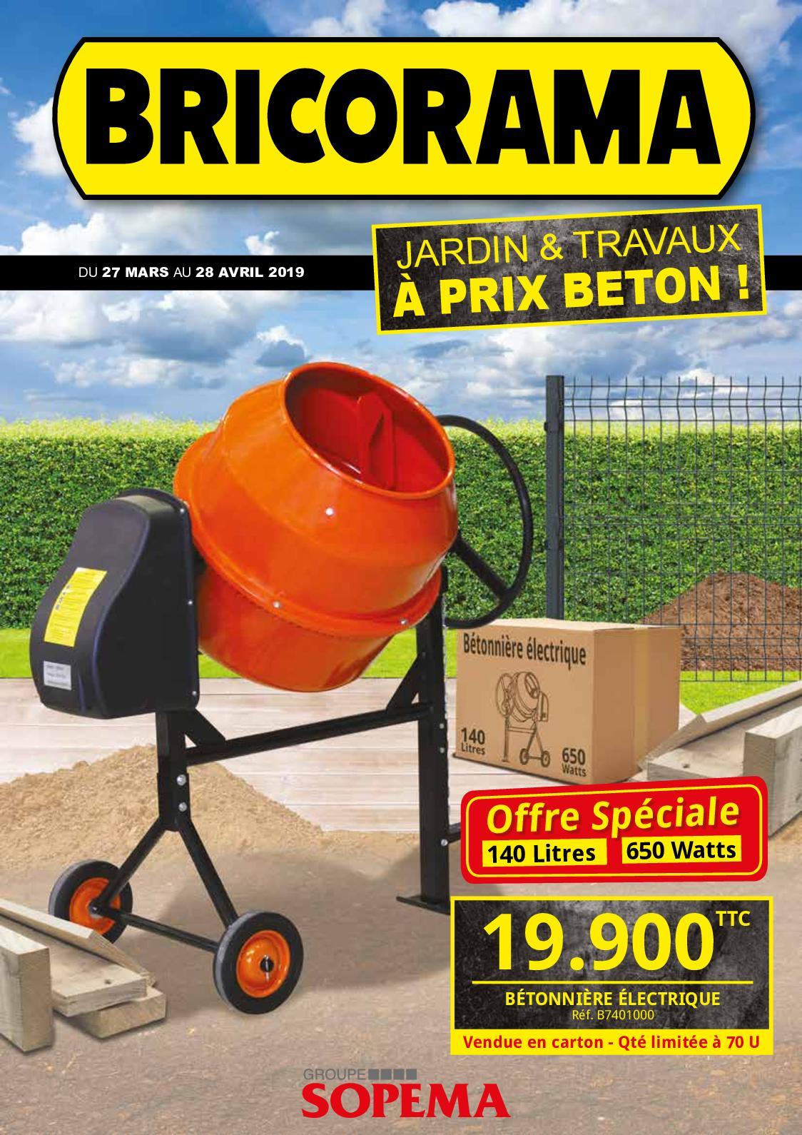 À Jardin Calaméo Travaux Prix Béton Bricorama j4LqAc5R3S