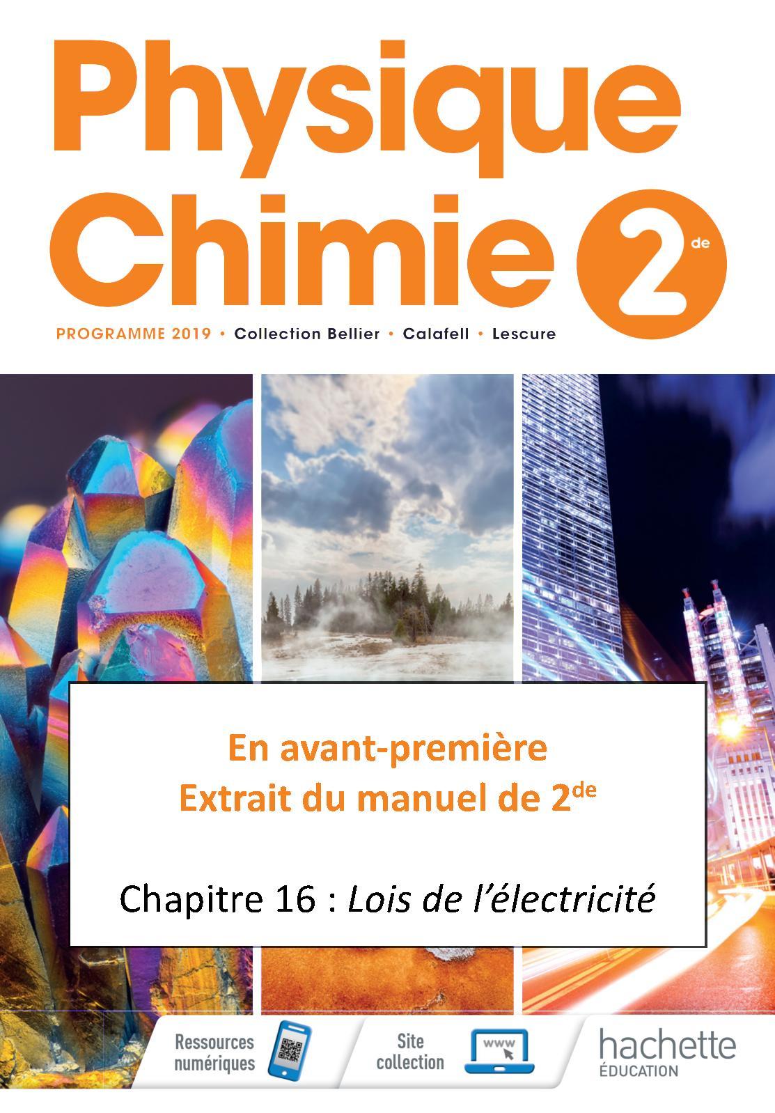 Calameo Extrait Physique Chimie 2de