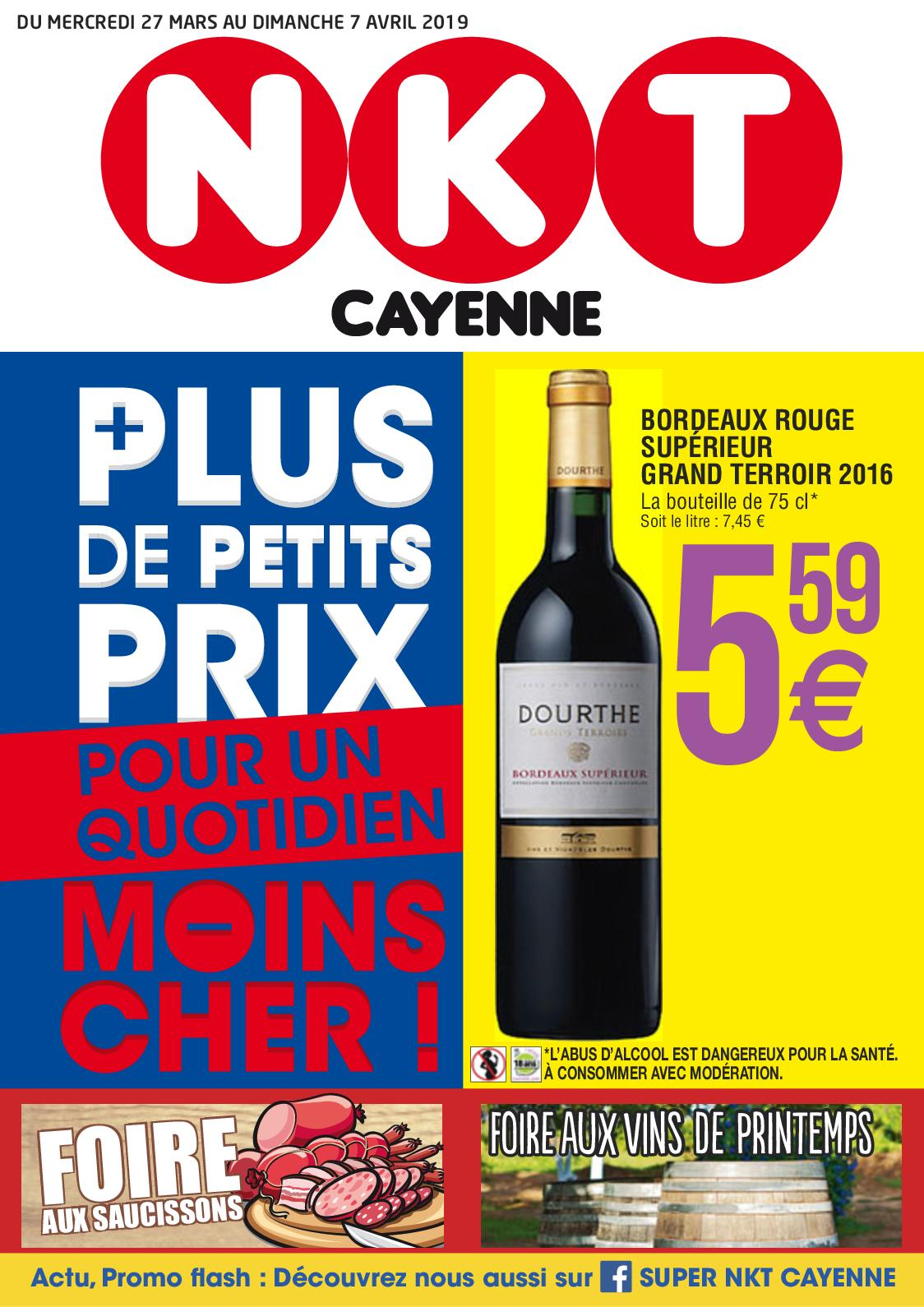 "Catalogue ""FAV 2019"" - NKT Cayenne, du 27/03 au 07/04"