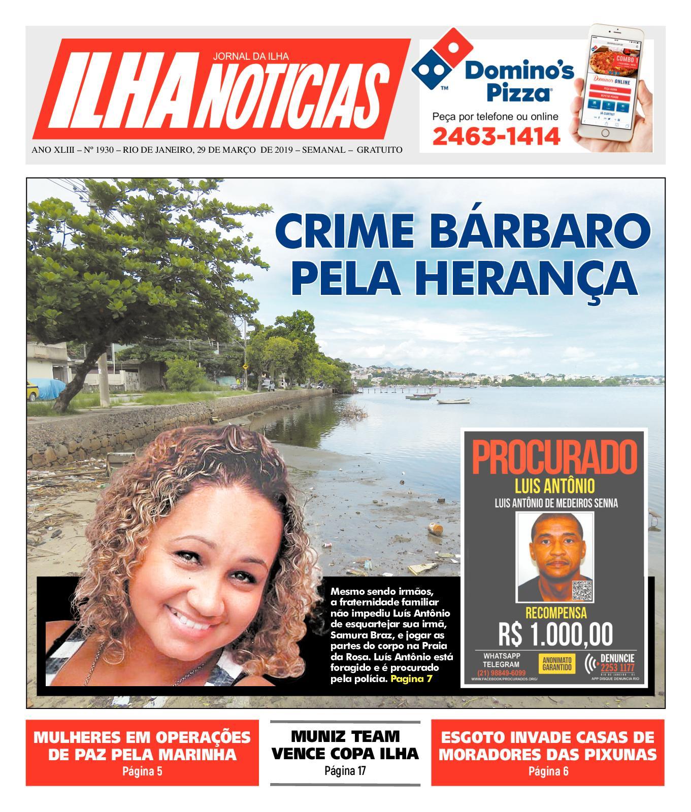 Ilha Noticias - Edição 1930 - 29/3/19