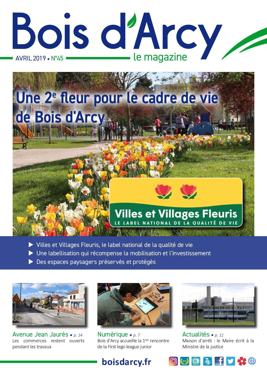 Calaméo Bois Darcy Le Magazine N45 Avril 2019