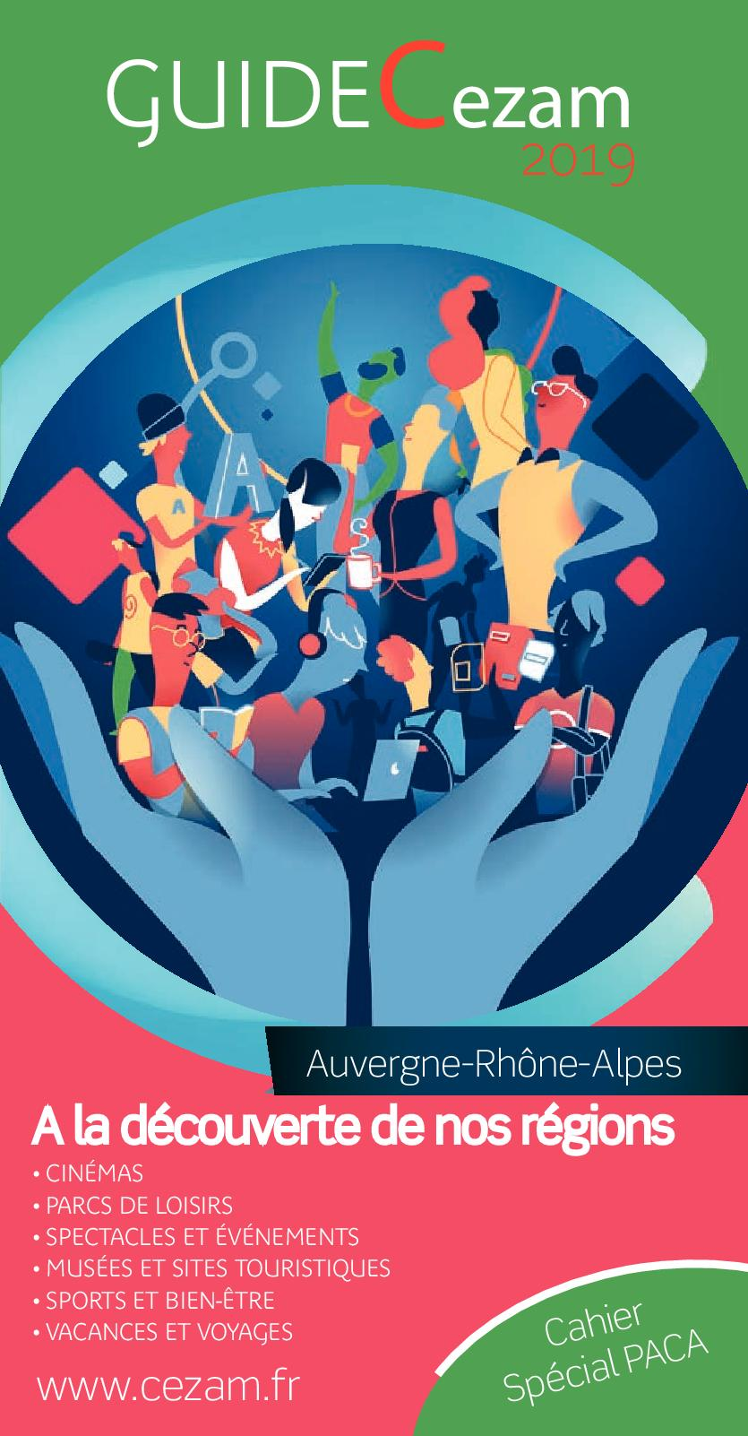 Carte Cezam Leclerc Voyages.Calameo Guide Cezam Auvergne Rhone Alpe 2019