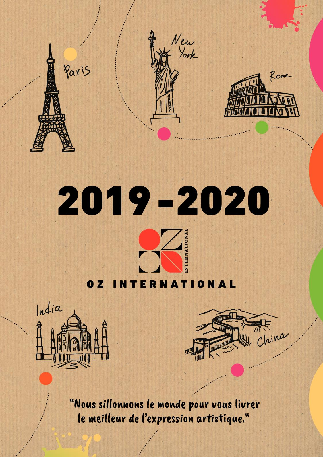 Calameo Catalogue Oz International 2019 2020