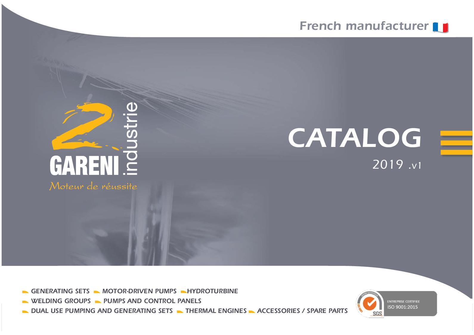 Calaméo Catalog 2 Gareni Industrie Eng