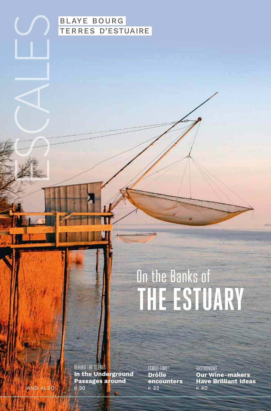 Calaméo - Blaye Bourg Terres d'estuaire - Magazine 2019 UK