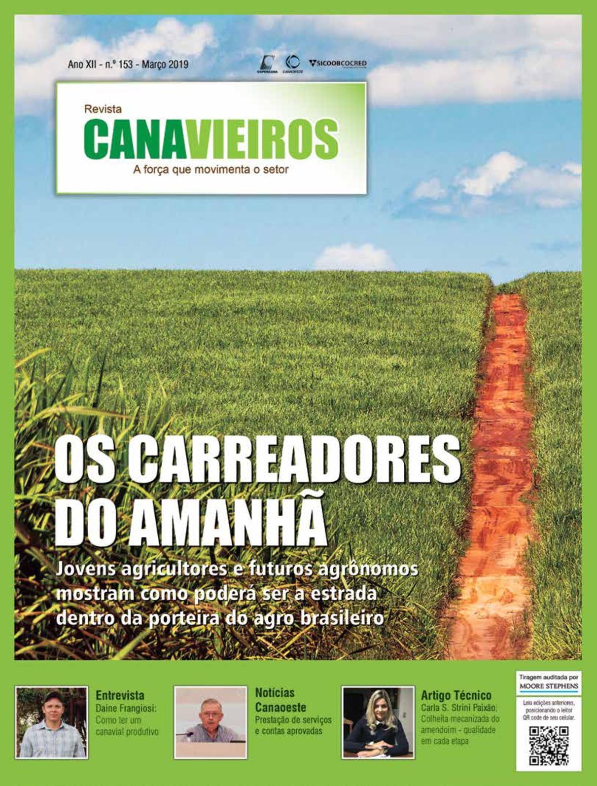 f6e3f24a2422 Calaméo - Edição 153 - Março 2019 - Os carreadores do amanhã