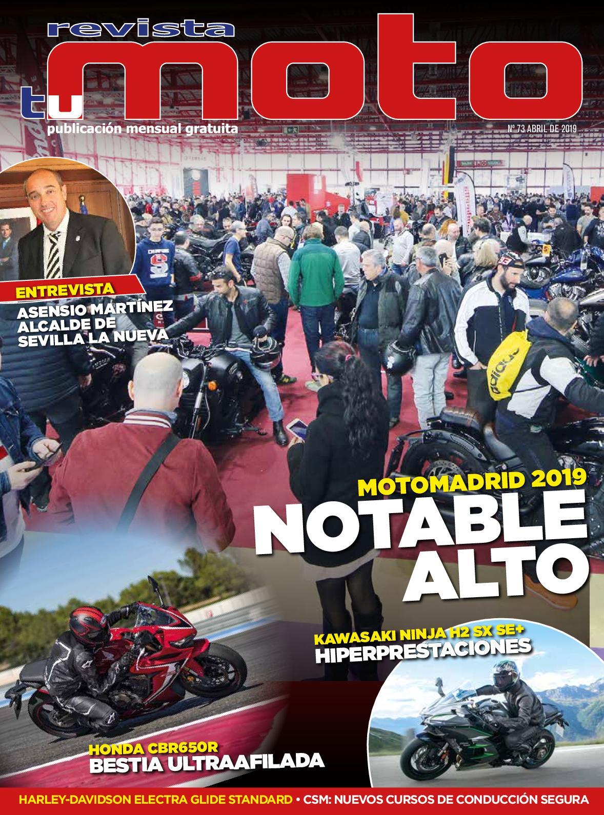 Revista Tu Moto Mes De Abril Número 73