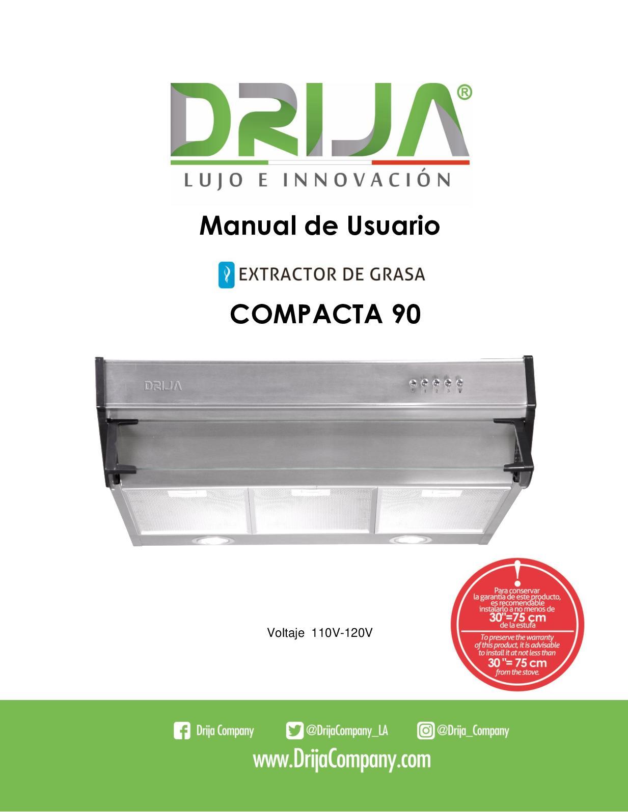 Compacta 90 - Manual Español- Drija