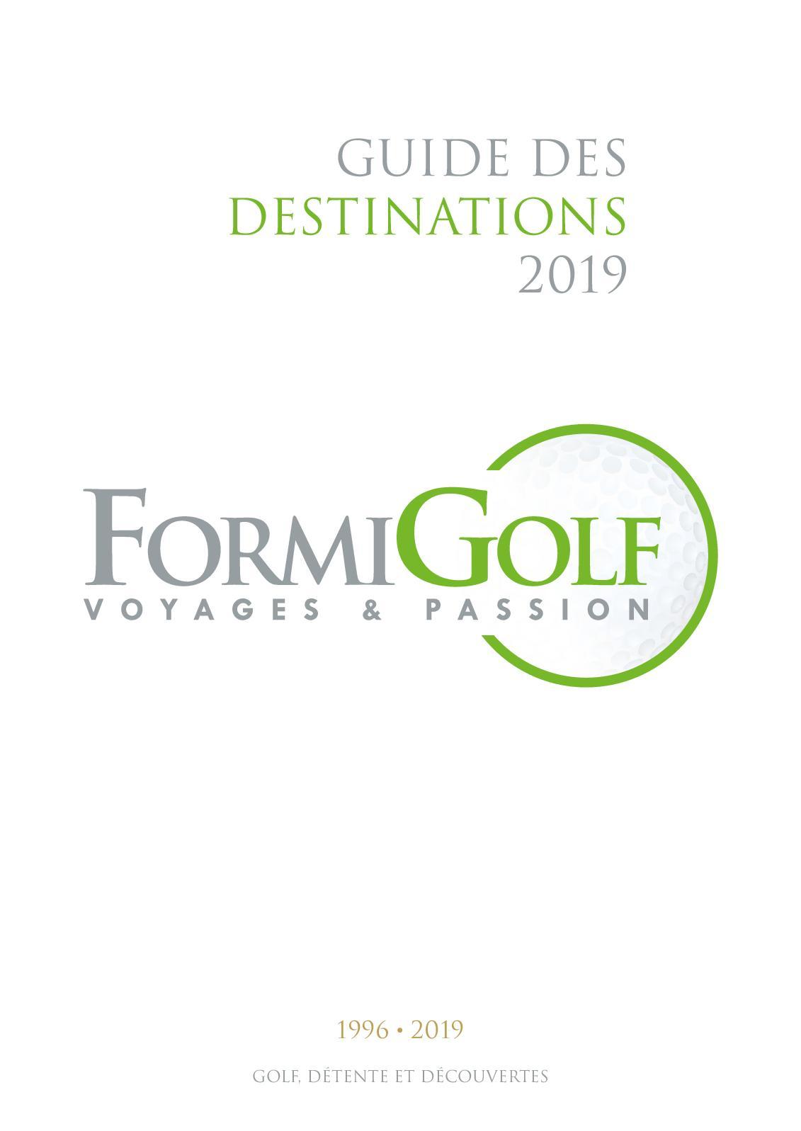 Calaméo Guide Formigolf 2019