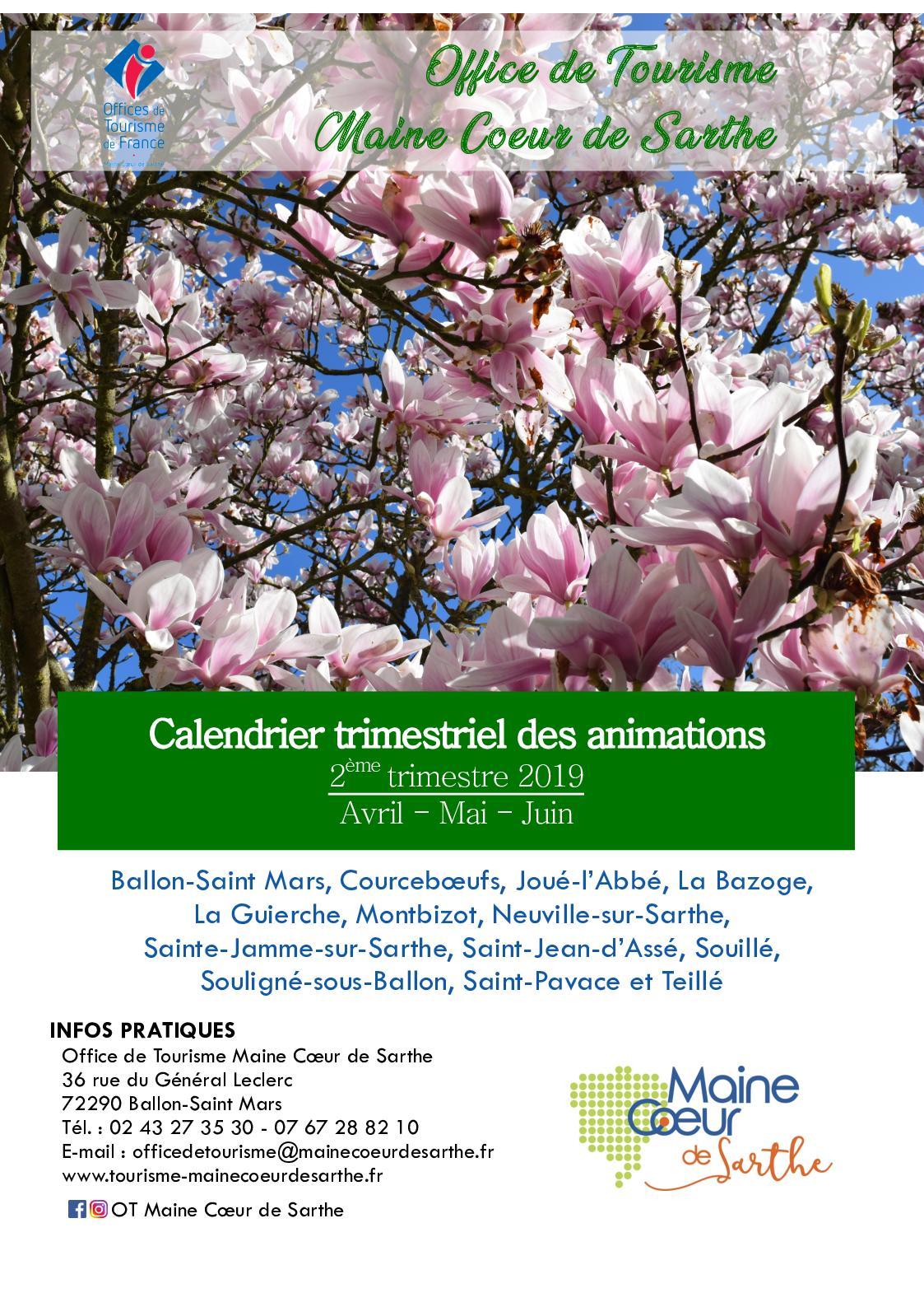 Calendrier Comice Agricole Sarthe 2019.Calameo Calendrier Trimestriel 2e Trimestre 2019