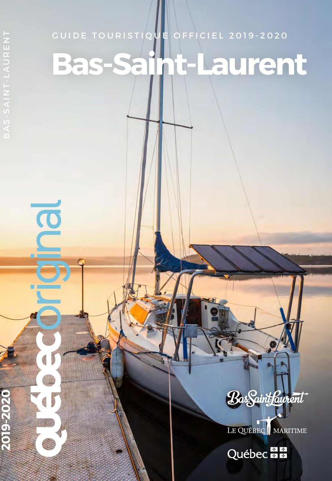 Guide touristique officiel Bas-Saint-Laurent 2019-2020