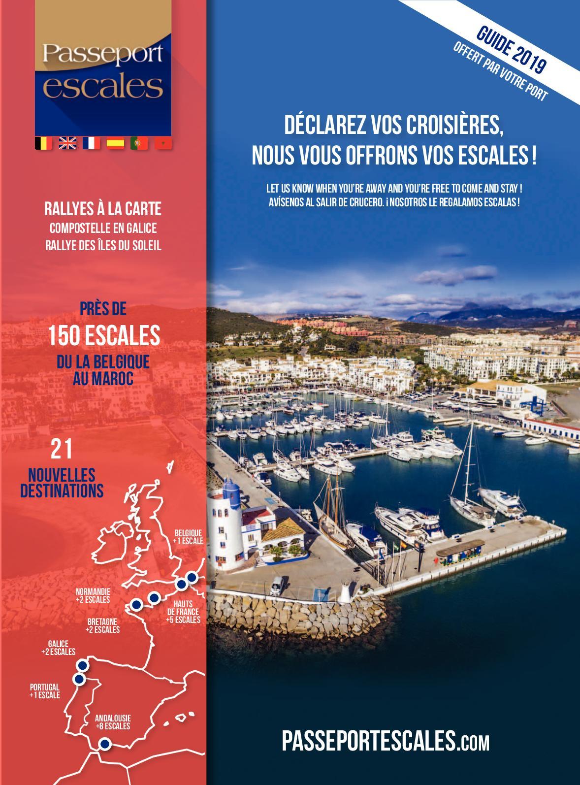 Calaméo Guide Passeport Passeport Calaméo 2019 Escales Guide wOPXiTZku