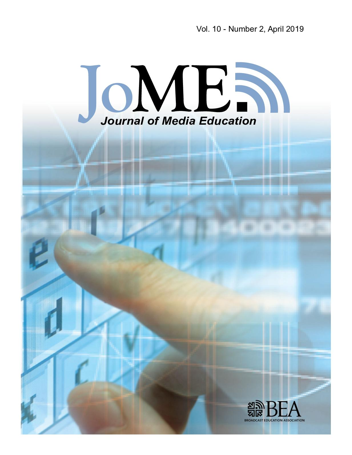 Calaméo - Journal of Media Education | April 2019