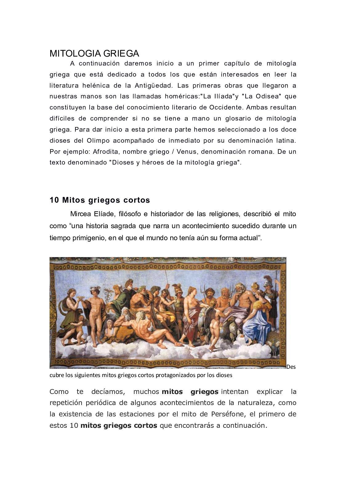 Calaméo Mitologia Griega