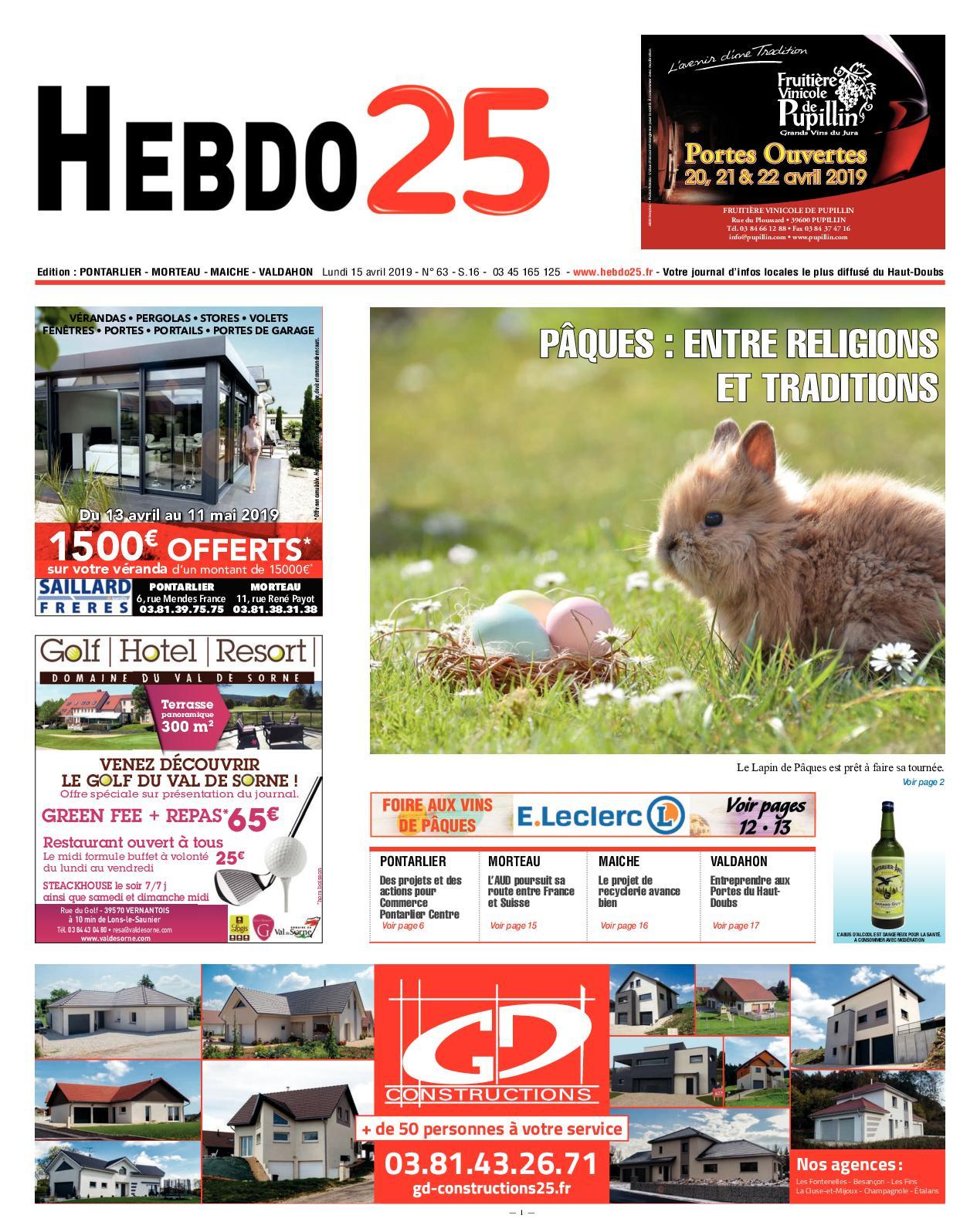 Calaméo - Hebdo Pontarlier 2019 Semaine 16