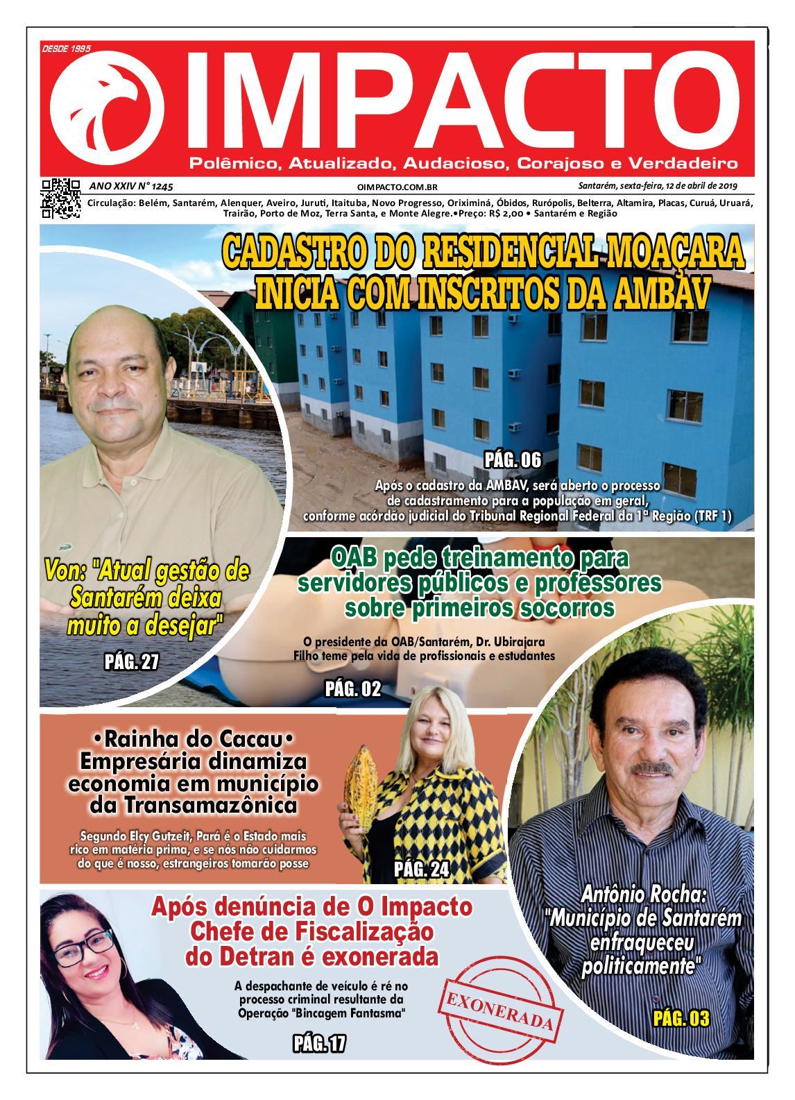 ce4ecb66c Calaméo - Edição Jornal O Impacto 1245