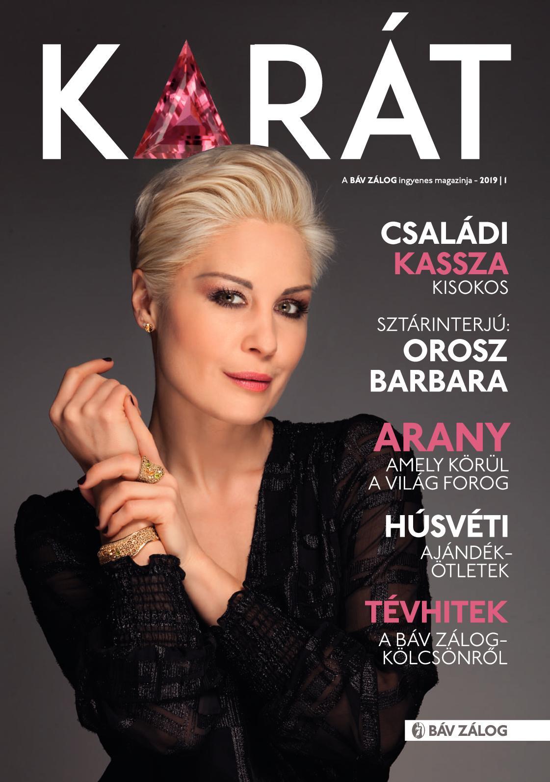 BÁV Karát Magazin 2019/1