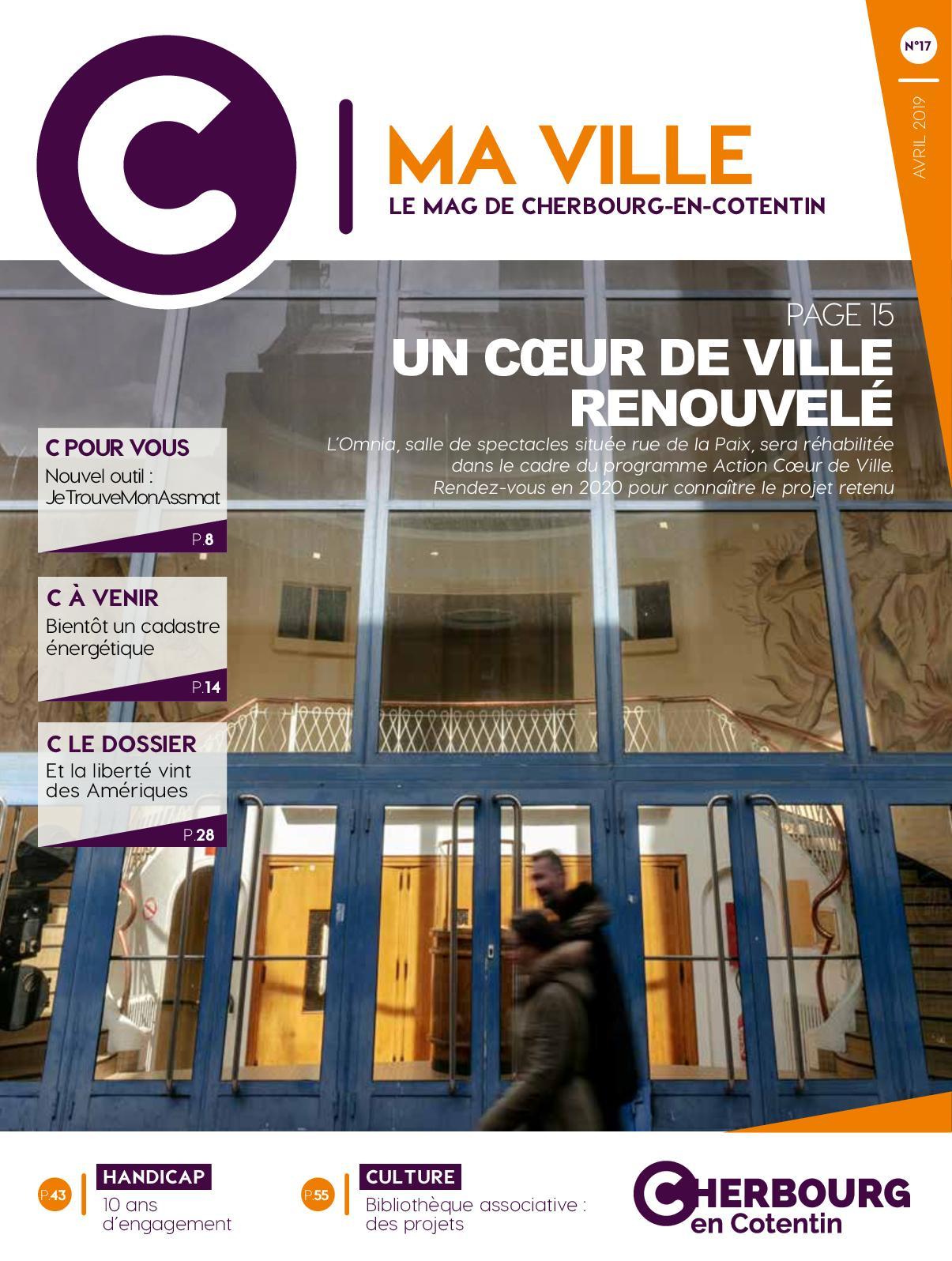 En Ma avril2019 De Calaméo Cotentin Le C Ville17 Mag Cherbourg dBsQrhCxt