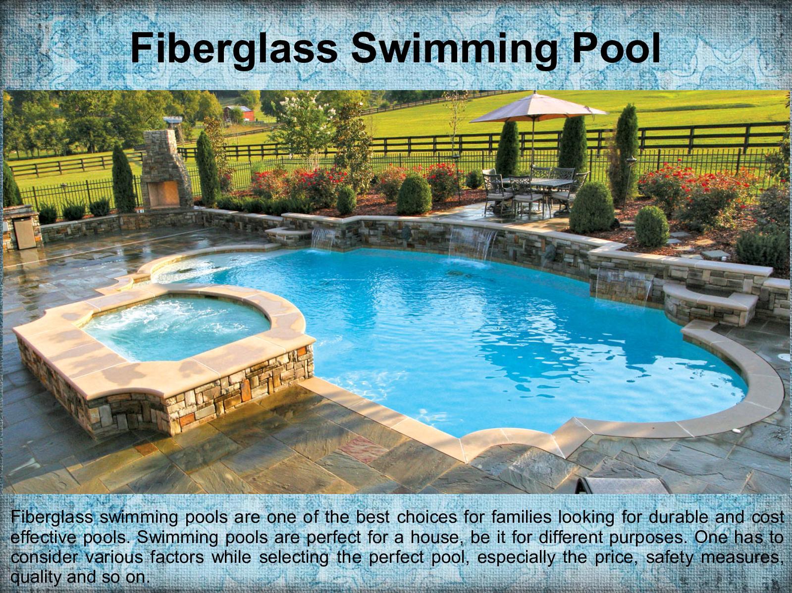 Calaméo - Benifits Fiberglass Swimming Pools