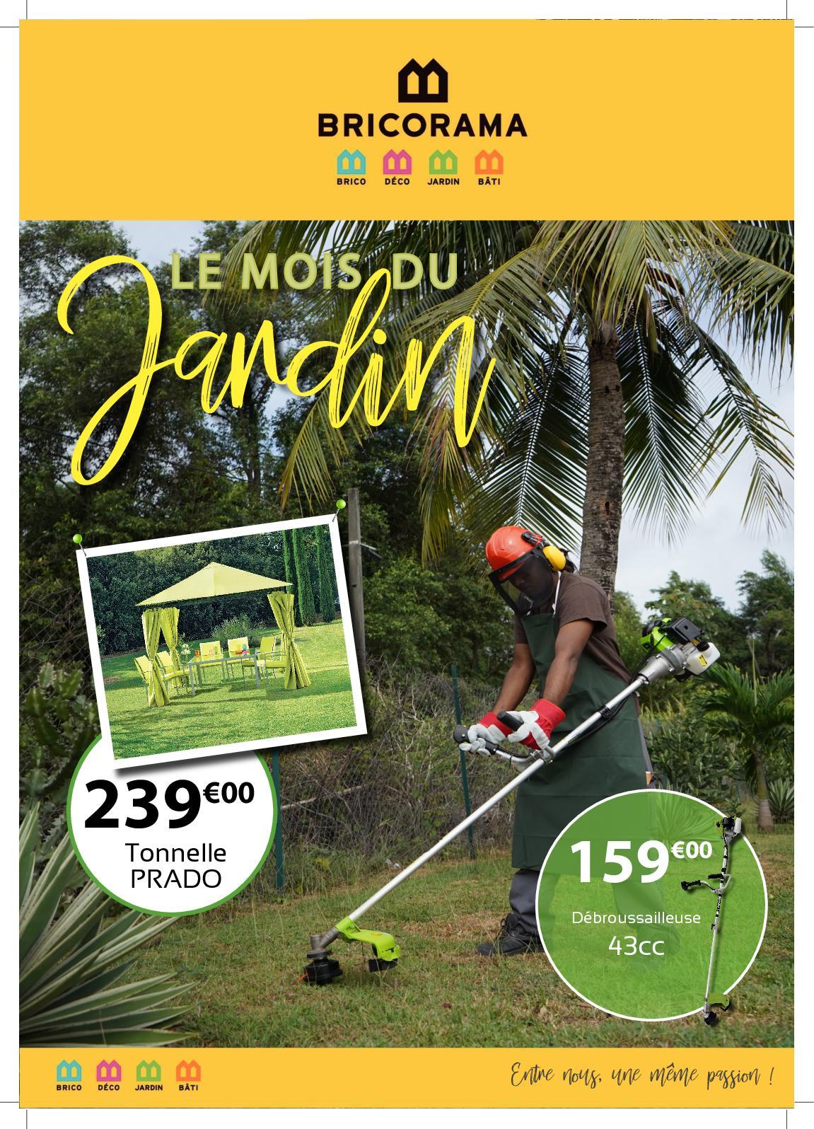 Calaméo - Catalogue Mois du Jardin 2019 - Bricorama Guyane