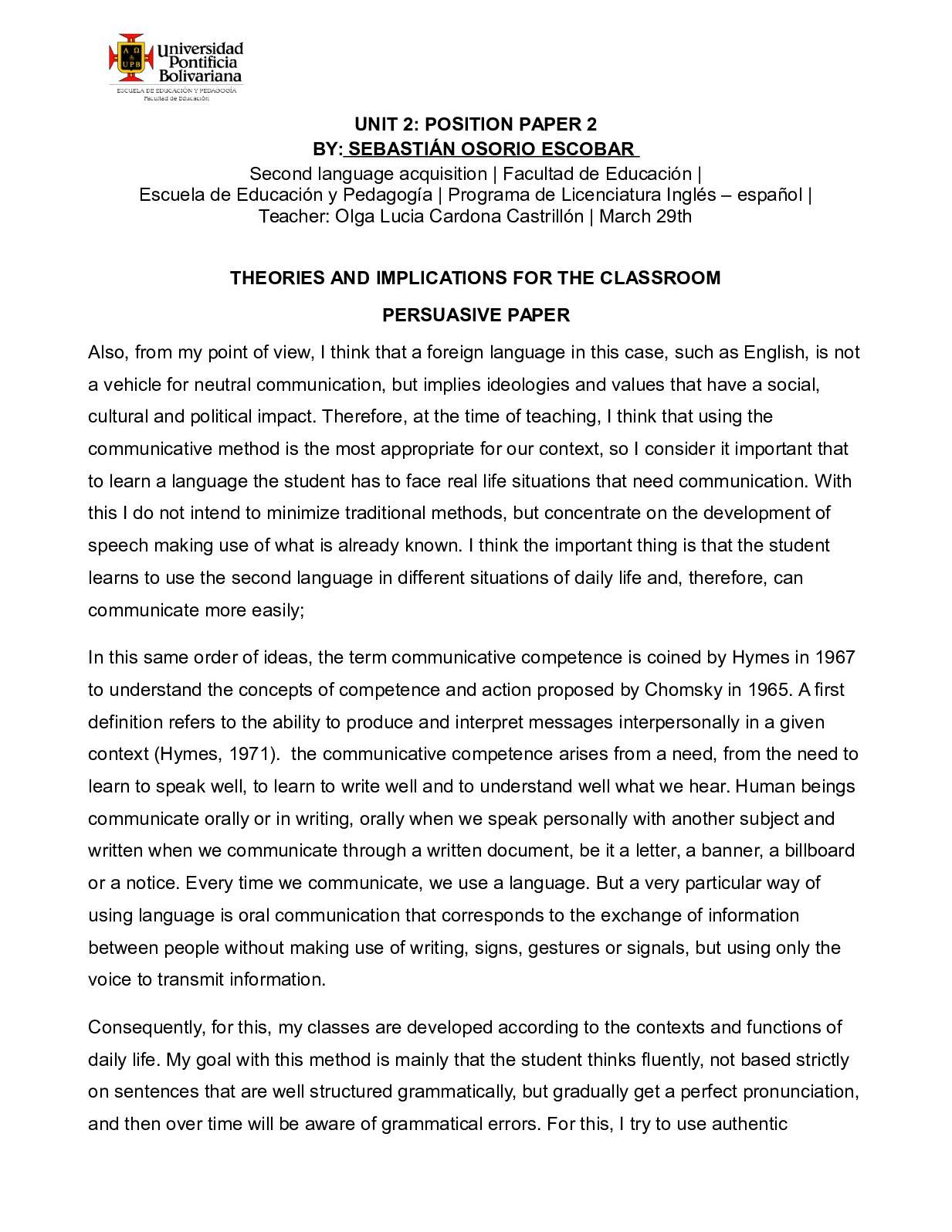 Calaméo - Sebastian Osorio Escobar Persuasive Paper