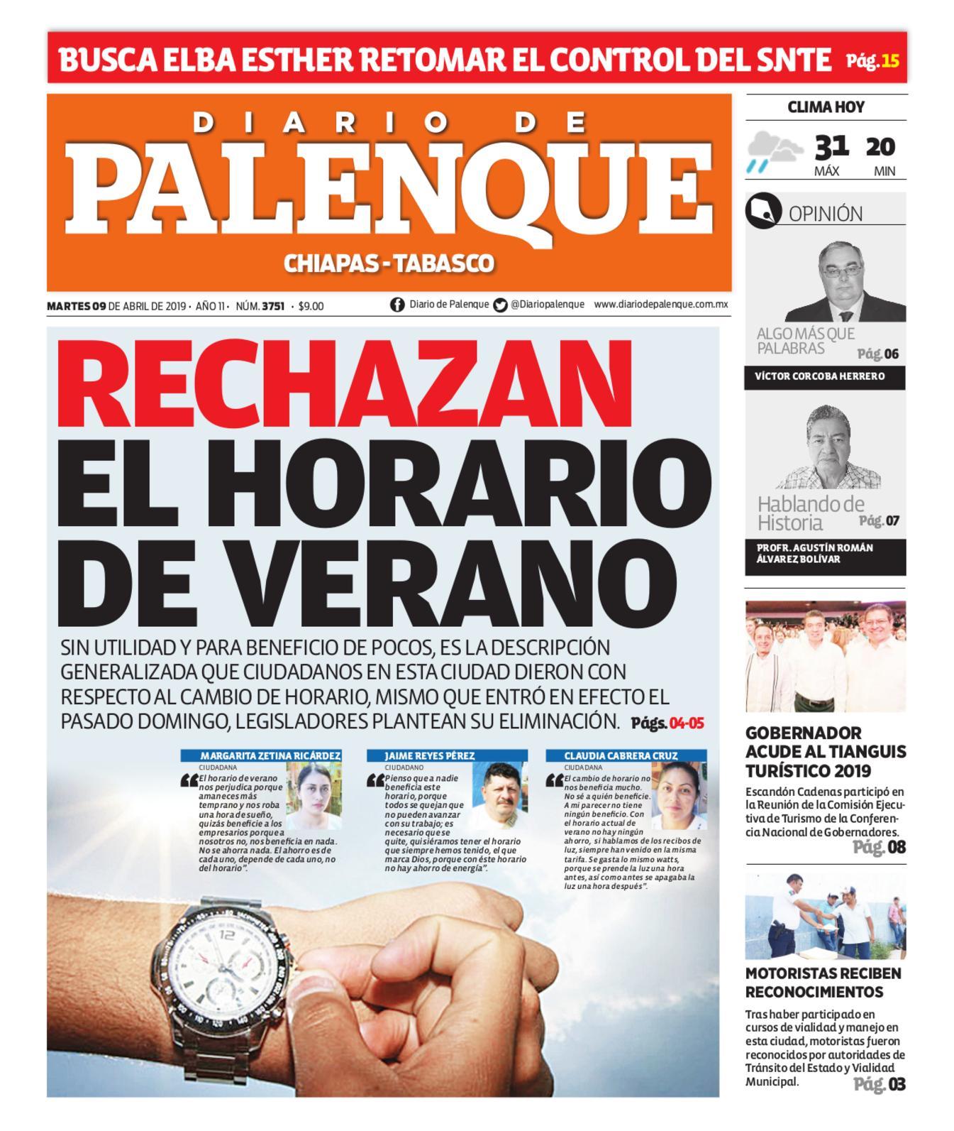 Calaméo Diario 09 04 2019