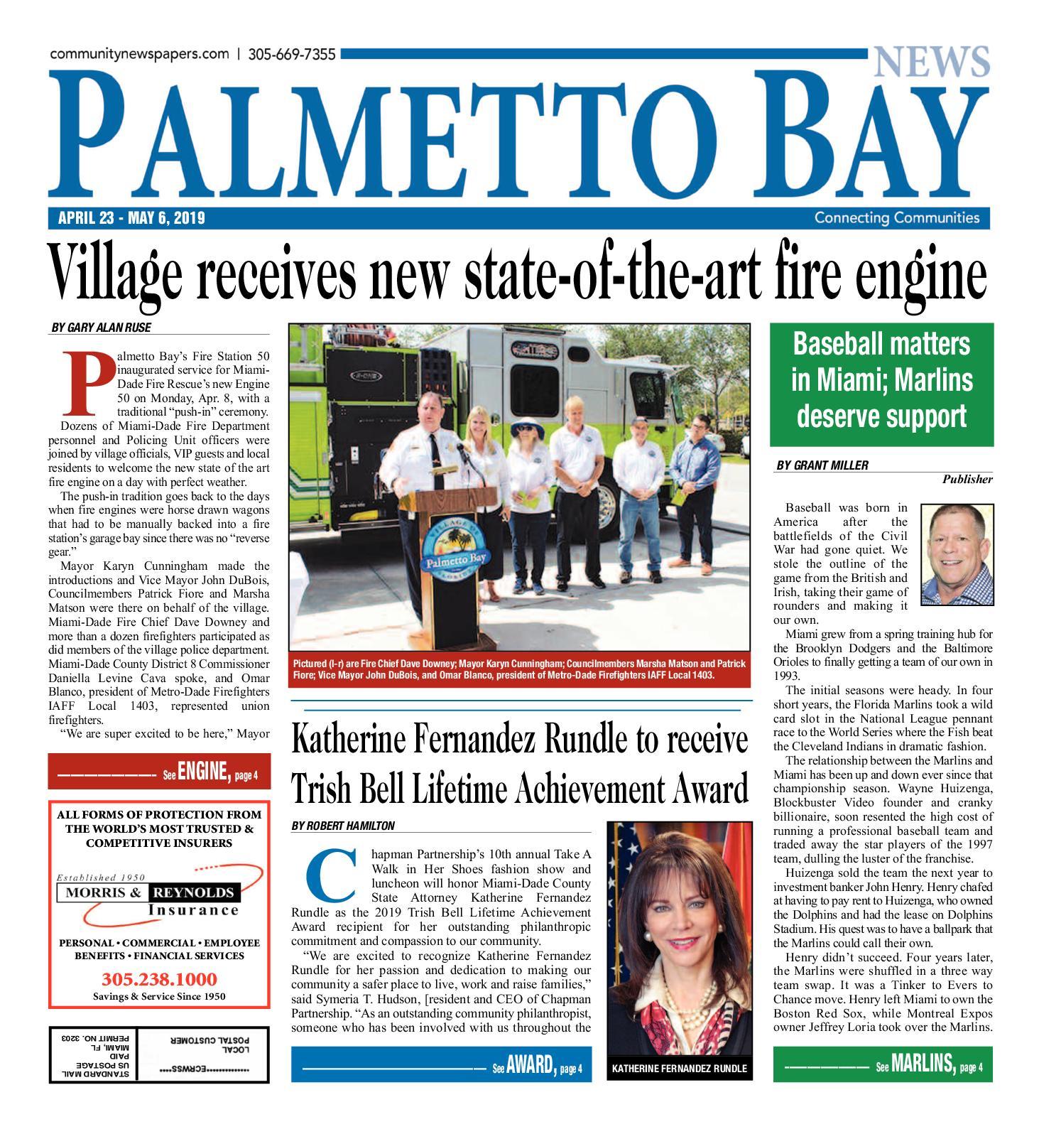 Calaméo Palmetto Bay News 4232019