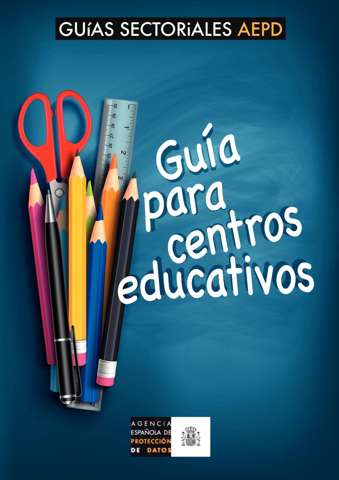 Guia Protección De Datos Para Centros Educativos