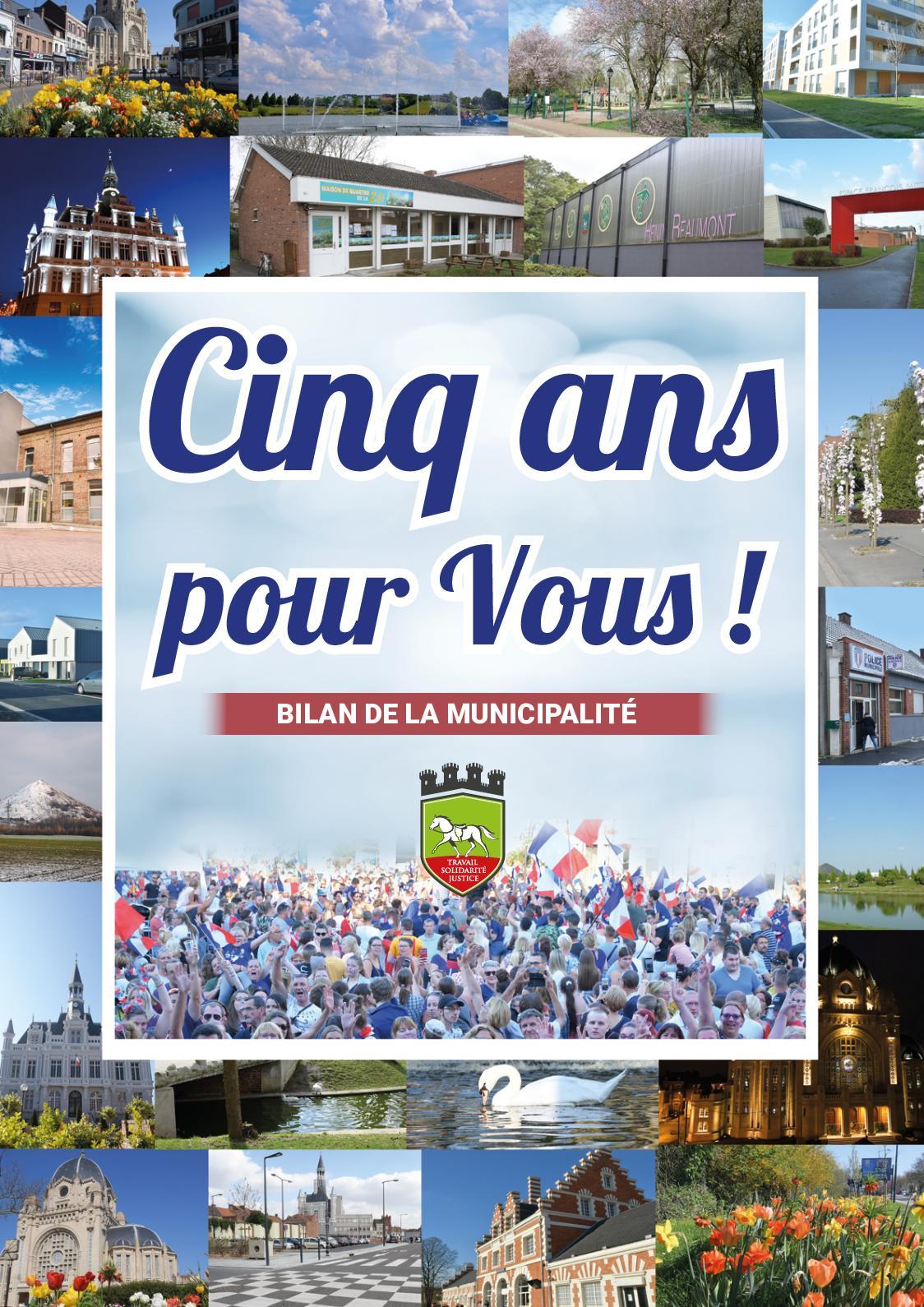 Bilan des 5 ans - Municipalité d'Hénin-Beaumont