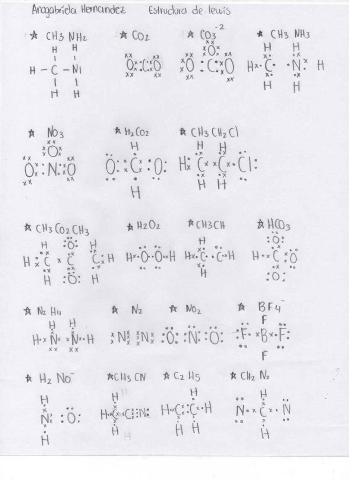 Estructura Lewis Nh3
