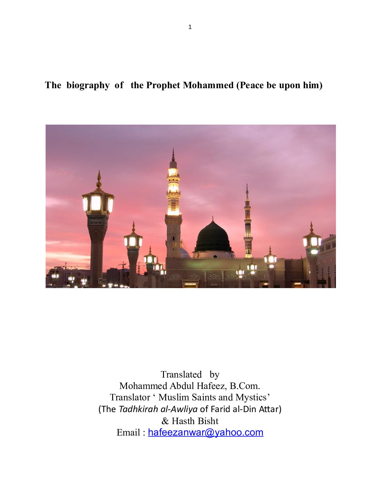 Calaméo - The Brief Biography Prophet Mohammed In 25o Questions