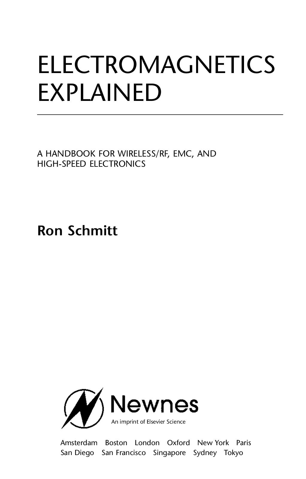 Calam O Electromagnetics Explained Handbook Wireless