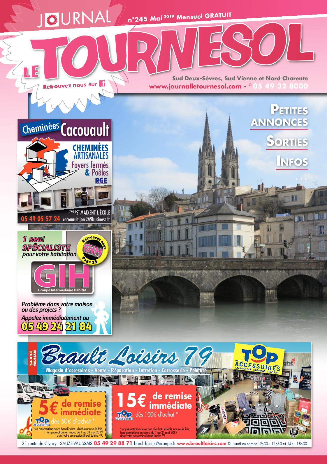 Tapis Pour Caravane Gitan calaméo - journal le tournesol mai 2019