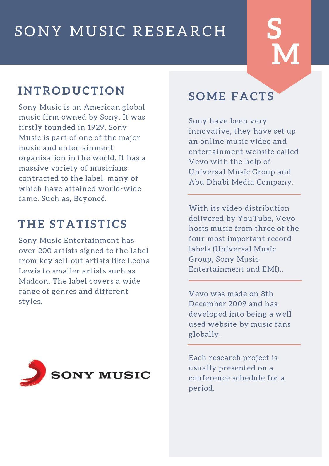 Calaméo - Sony Music Research