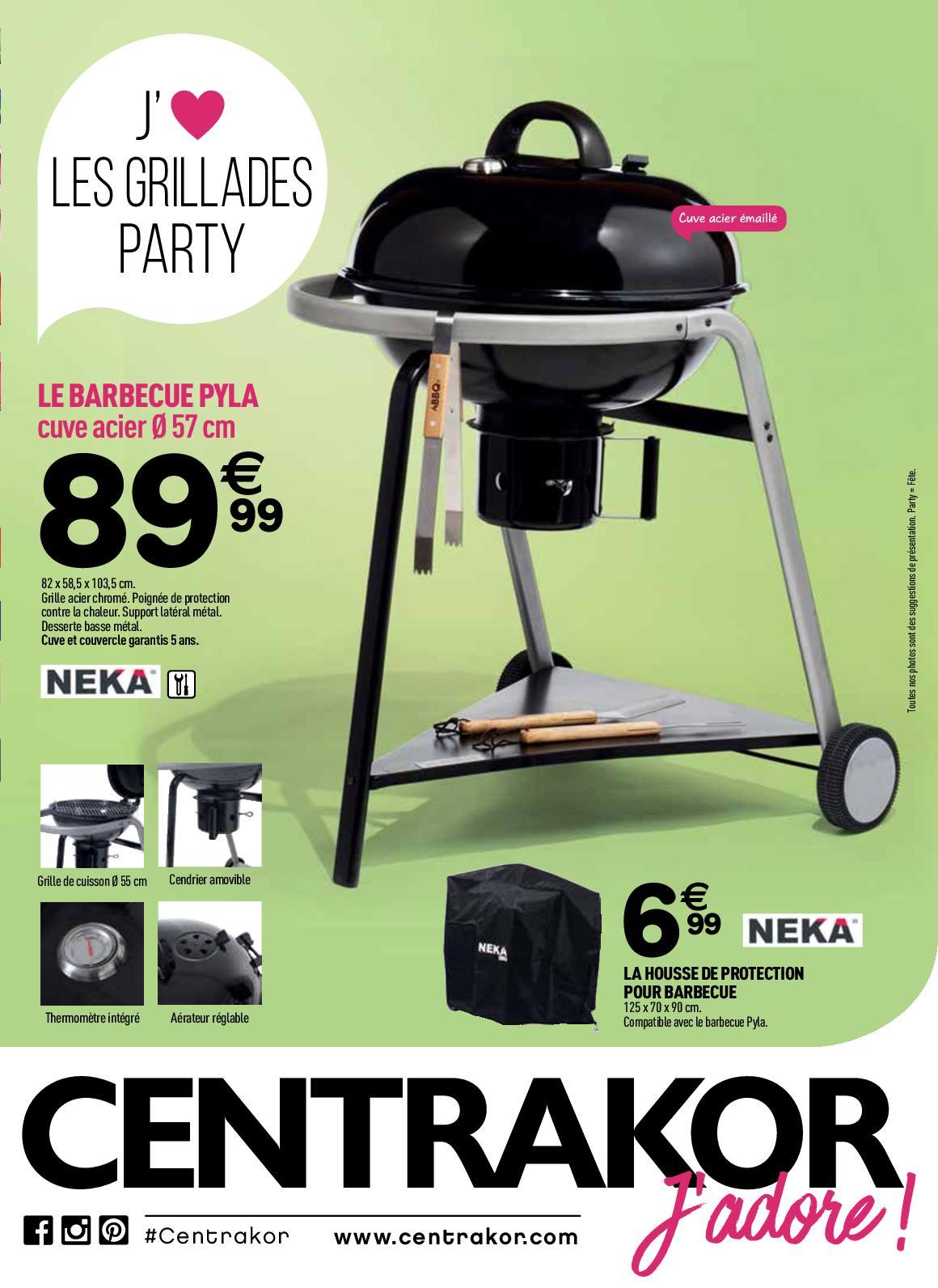 Calaméo Catalogue Barbecue Malice Centrakor