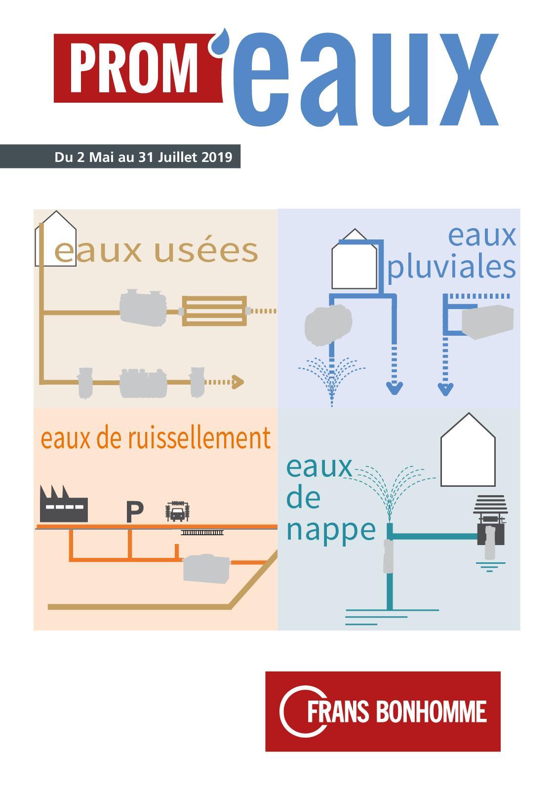 Schema De Pose De Fosse Septique calaméo - opération prom'eaux 2019