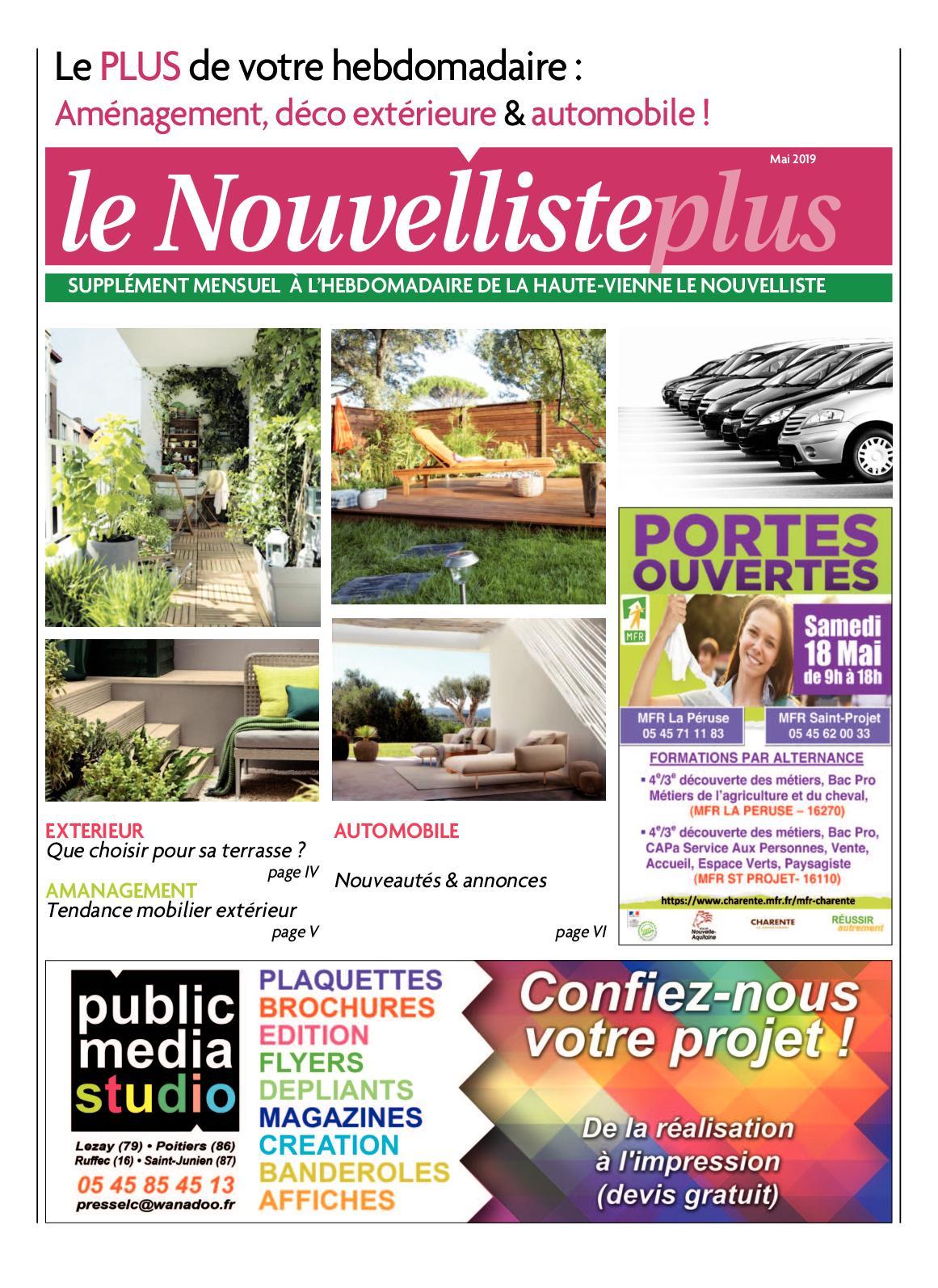 Calaméo - LE NOUVELLISTE PLUS - MAI 2019