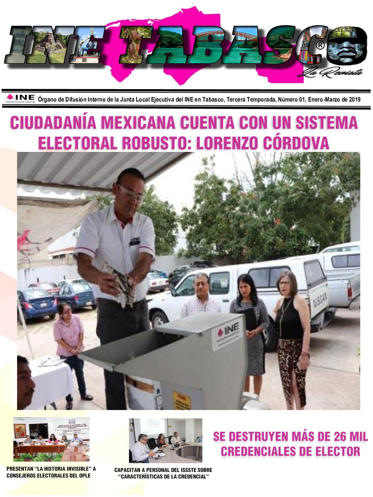Calaméo Ine Tabasco La Revista No 1