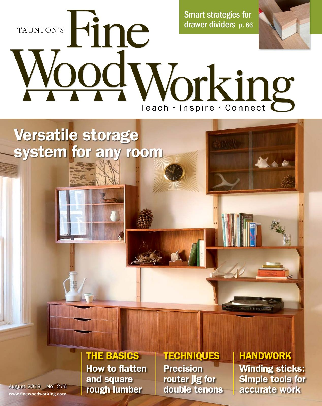 Calameo Fine Woodworking 276 July August 2019 Preview