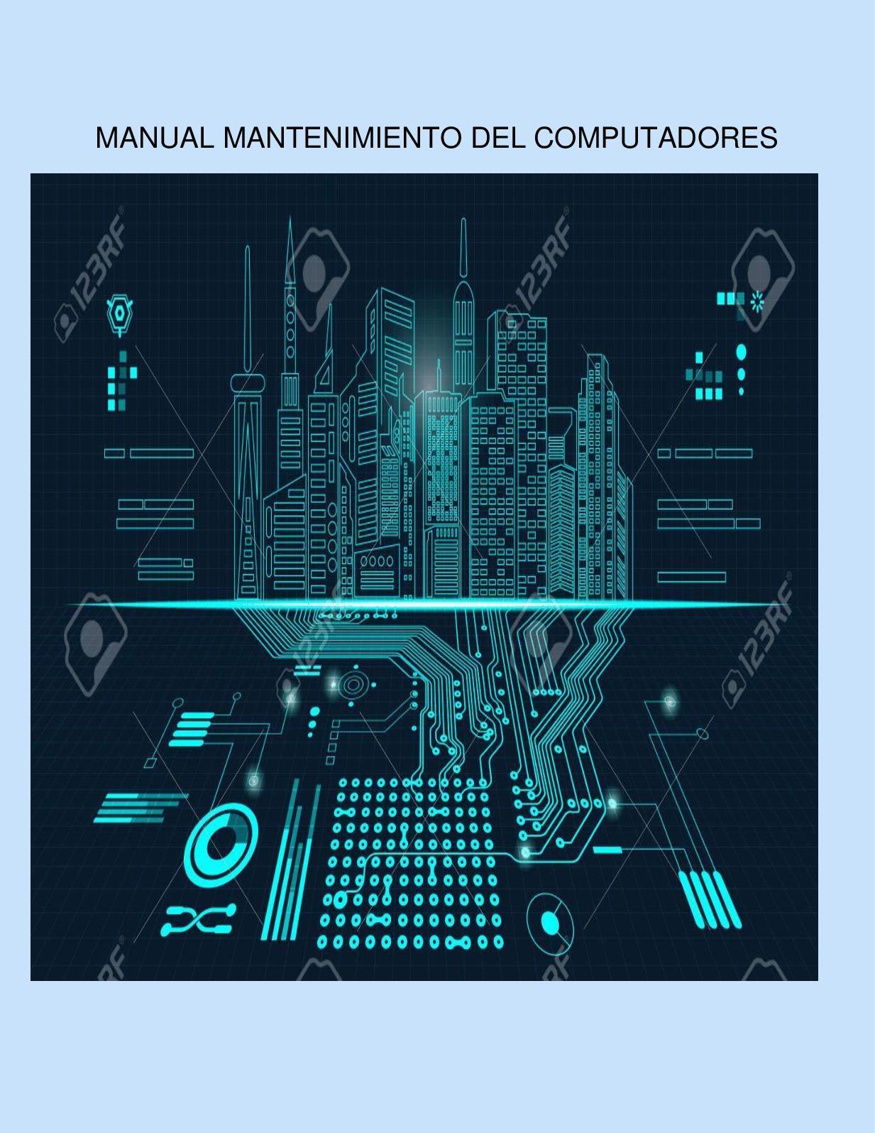Manual De Mantenimiento Del Computadores Pdf