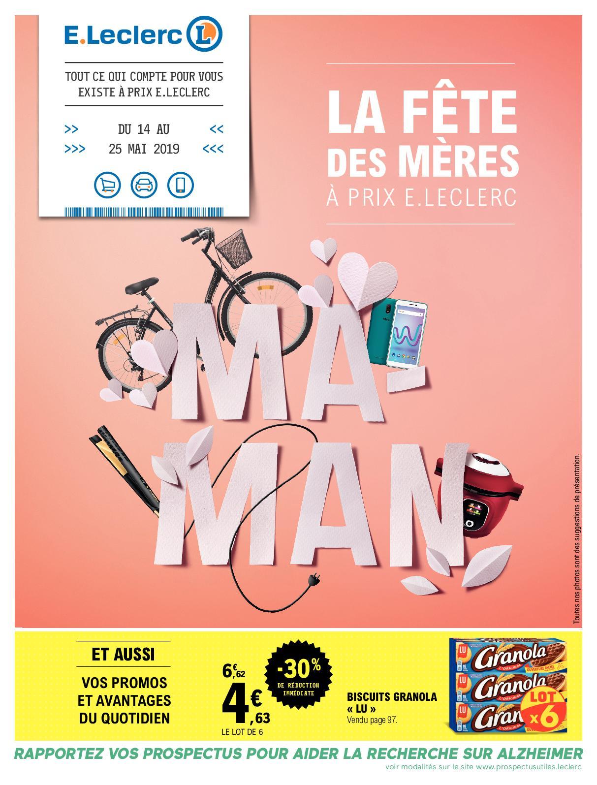 Calameo V3 La Fete Des Meres A Prix E Leclerc