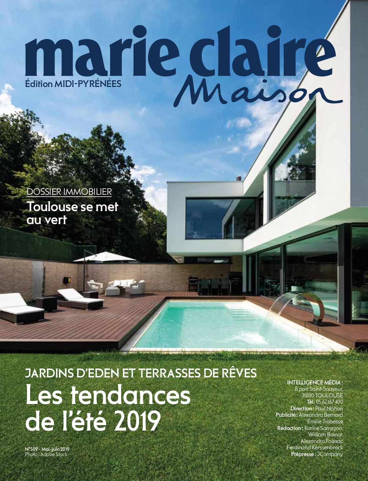 Marie Claire Maison Jardin Recup calaméo - marie claire maison n°509 - mai/juin 2019