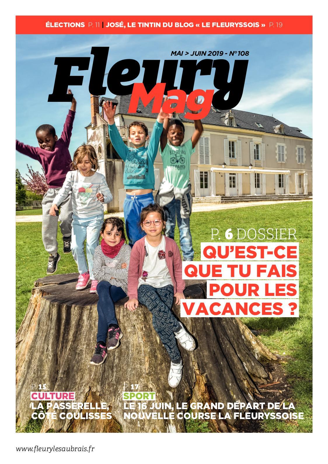 Le Fleury magazine n° 107 - mai-juin 2019