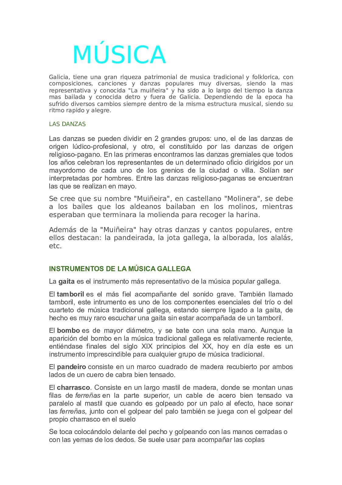 Calaméo Proyecto De Musica