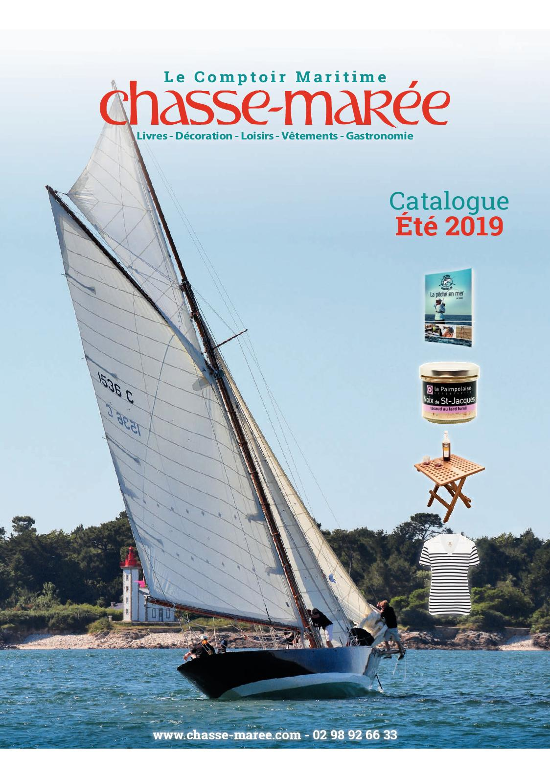 Calameo Comptoir Maritime Chasse Maree Catalogue Ete 2019