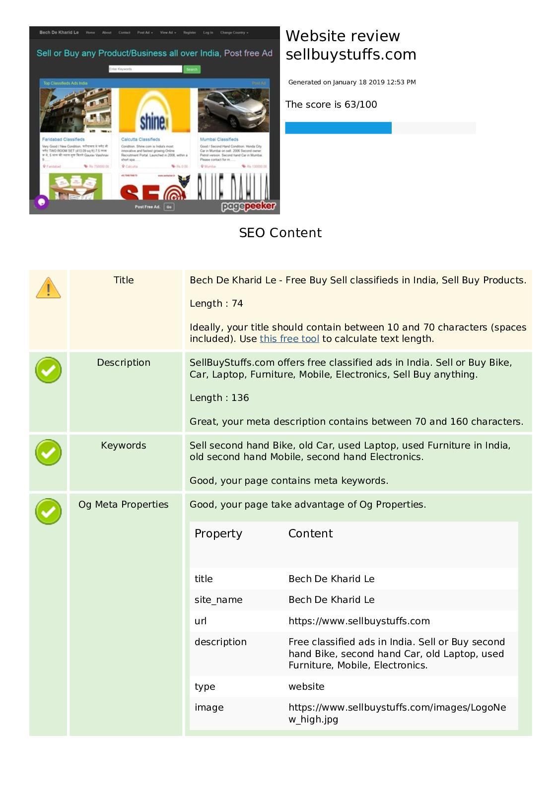 Calaméo - India Classified Website