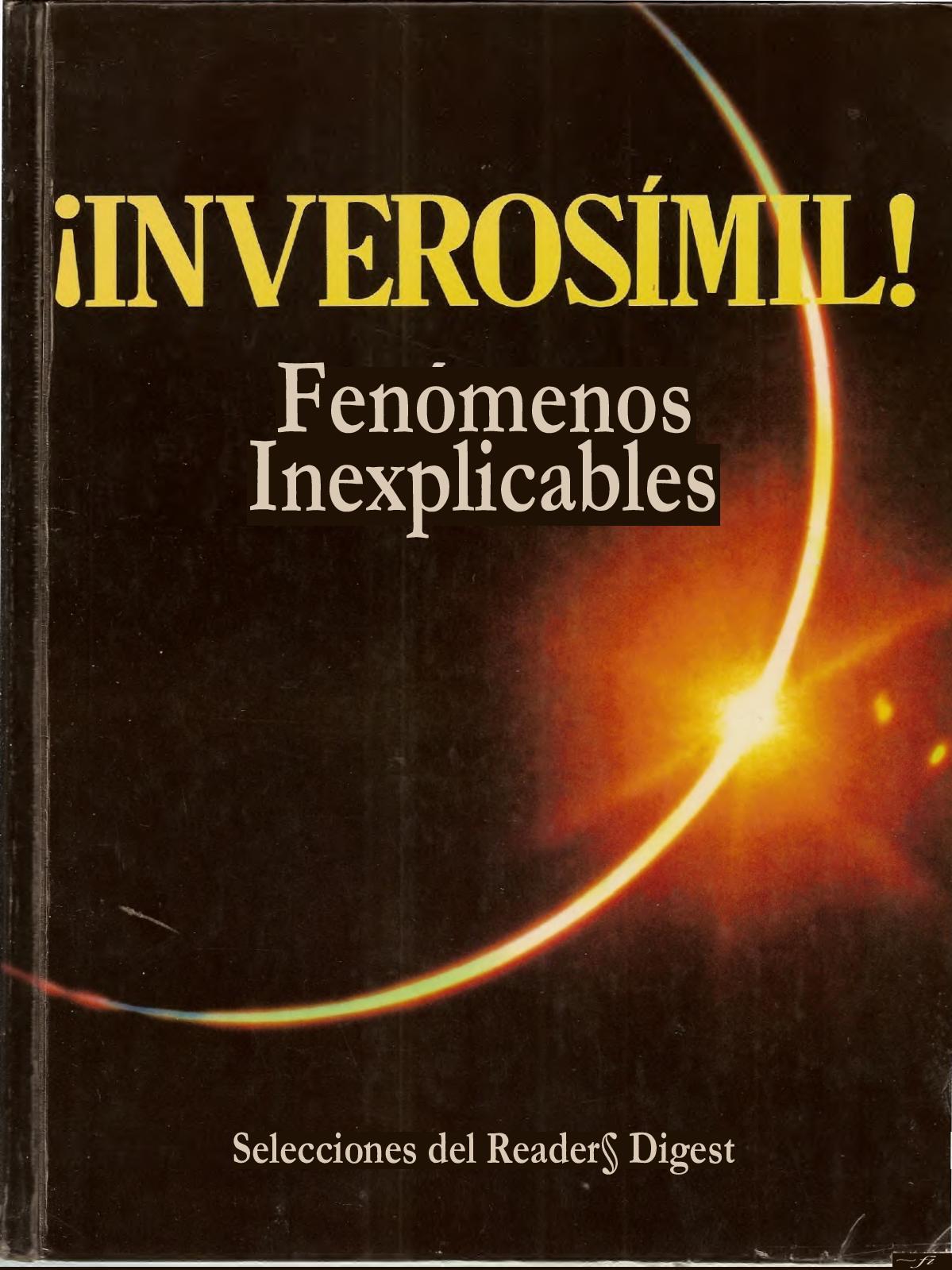 2f1a369e4 Calaméo - Readers Digest Inverosimil Fenomenos Inexplicables