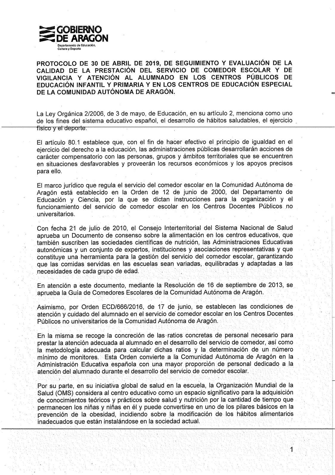Calaméo - 29 Protocolo Calidad Comedores Escolares Dgpfp ...