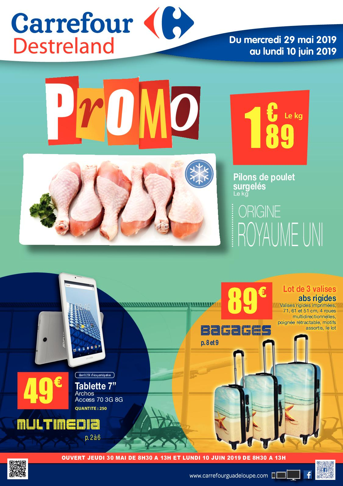 Carrefour Destreland - Bagages Promo - 2019