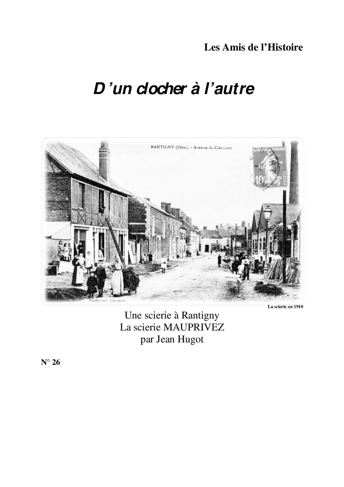 La Scierie De Rantigny